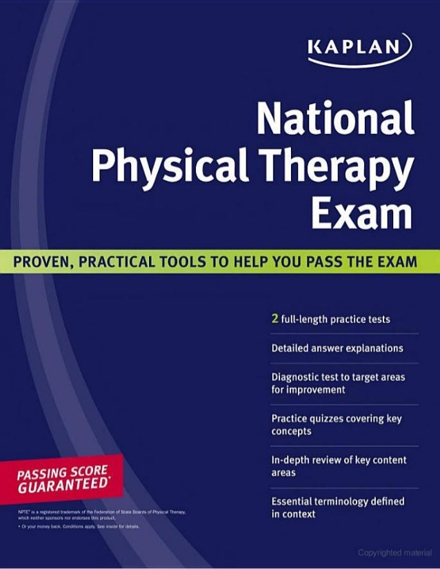 Kaplan national physical therapy exam by bethany chapman mary fratia fandeluxe Gallery