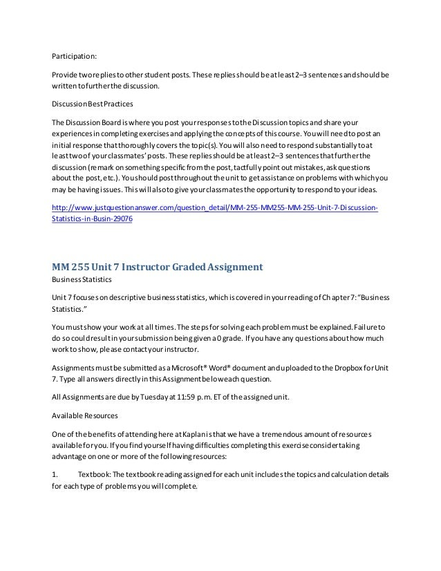 Kaplan assignment help