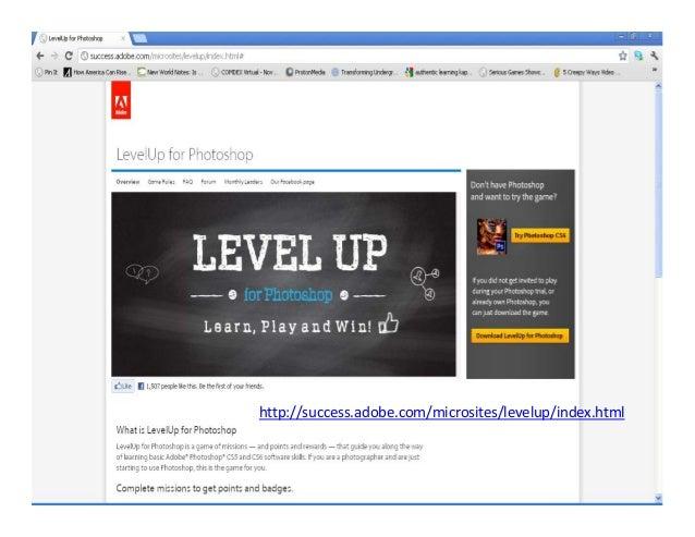 http://success.adobe.com/microsites/levelup/index.html