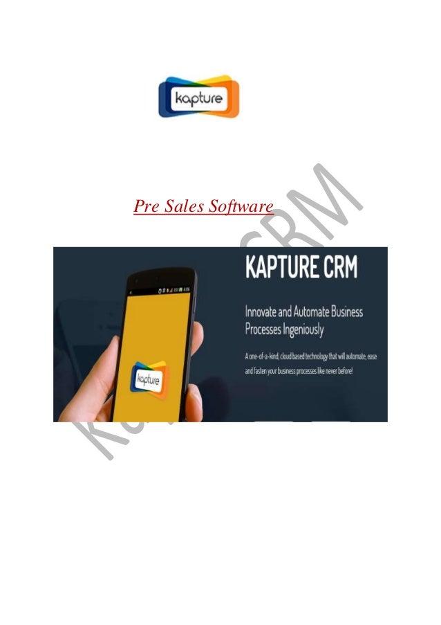 Pre Sales Software