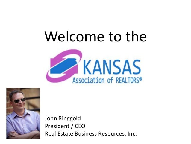 Welcome to the John Ringgold President / CEO Real Estate Business Resources, Inc.
