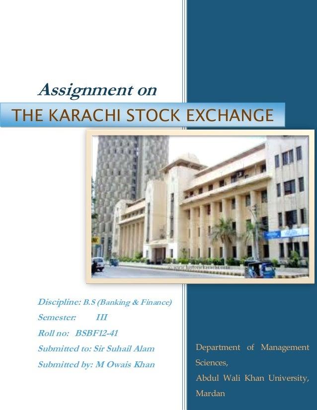 Pakistan Stock Exchange Limited