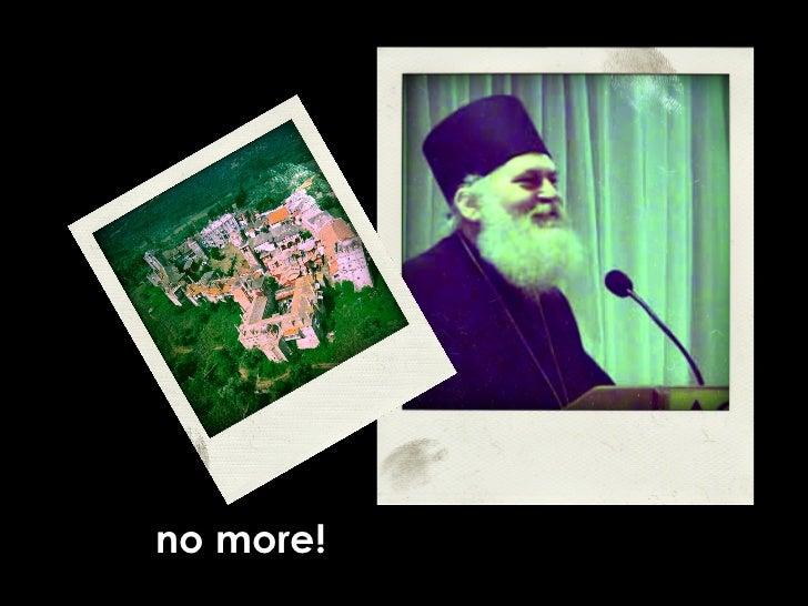 no more!