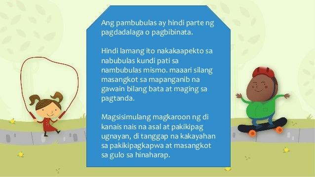 walong kakayahan ng pagbibinata at pagdadalaga C mabubuhay nang matiwasay ang isang tao kung ipauubaya ng tao ang.