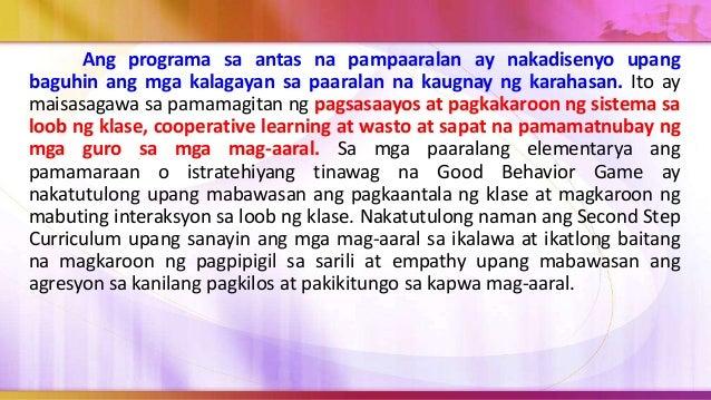 1. Ang paggalang sa kapwa ay kailangan upang maging ganap ang pagmamahal na inilalaan. Hindi ito hinihingi o binibili, bag...