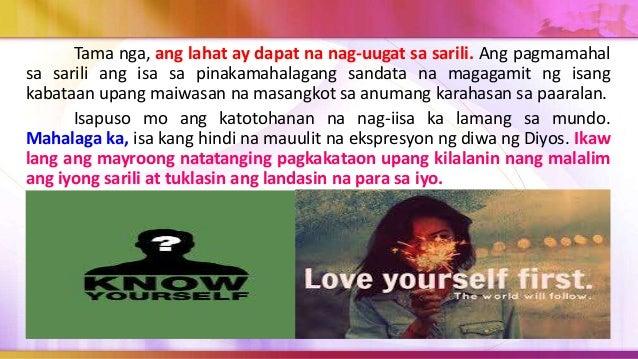 Ang karahasan sa paaralan o sa kahit na saang lugar ay bunga ng pagtalikod ng taong gumagawa nito sa tunay at dalisay na k...