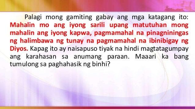 Pagsasabuhay 1. Makipag-ugnayan sa guidance counselor ng paaralan upang magplano para sa pagbubuo ng isang support group n...