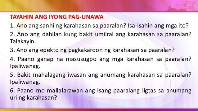 3. Mahalagang maisagawa ang sumusunod na gawain ng support group. a. Pagsasanay para sa lahat ng mga mag-aaral na magiging...
