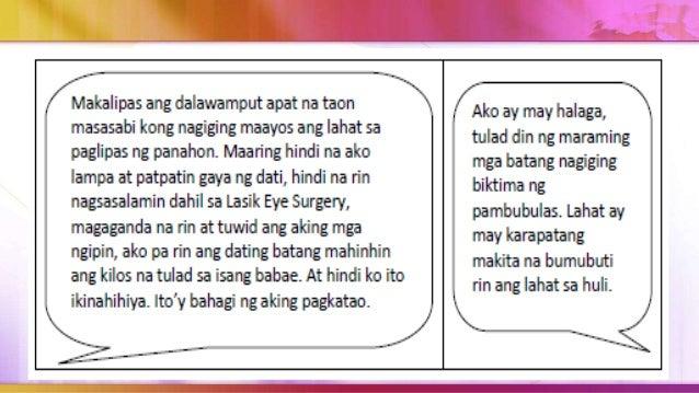 """Kapag ang nakuhang marka sa survey na """"Ikaw ba ay NAMBUBULAS?"""" ay: 1 hanggang 2 - may potensyal na maging mambubulas sa hi..."""