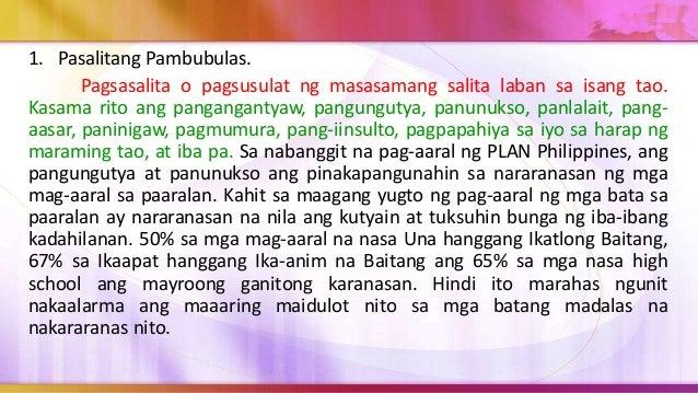 Ito ang lumalabas na pasimula sa pagkakaroon ng kakayahan ng isang mambubulas na makapanakit ng kanilang kapwa. Ang isang ...