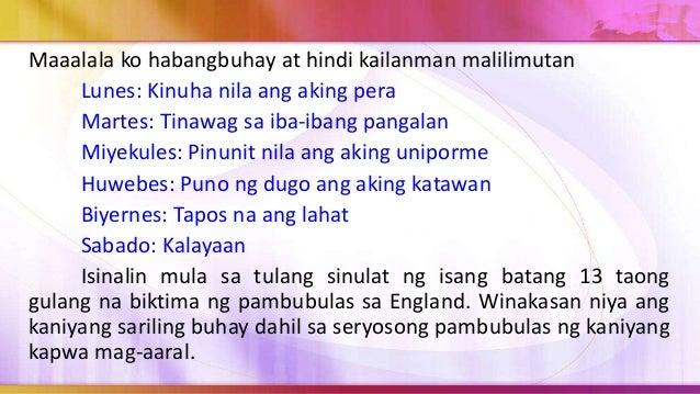 Bilang panlipunang nilalang, likas sa atin ang pagnanais na mapabilang (belongingness). Naghahanap tayo ng pangkat kung sa...