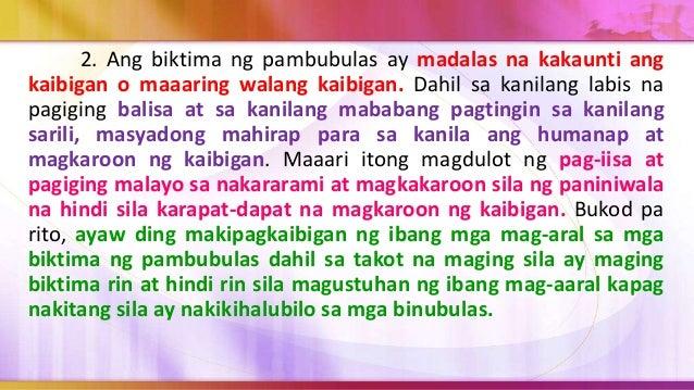 Sa kasalukuyan, ang gang ay mas bata, mas marahas, walang takot at higit sa lahat mayroong ng mga kababaihan. Pabata na na...