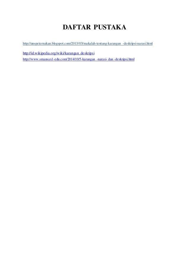Contoh Daftar Pustaka Organisasi Contoh Sur