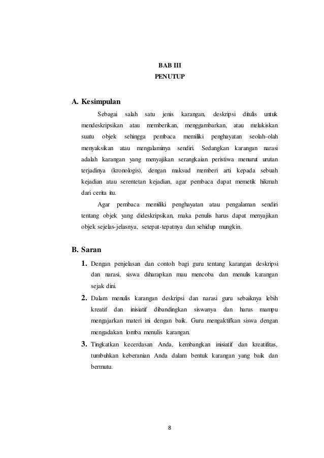 Image Result For Cerita Deskripsi Singkat