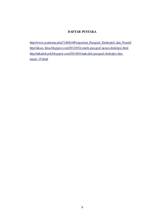 Karangan narasi & deskripsi