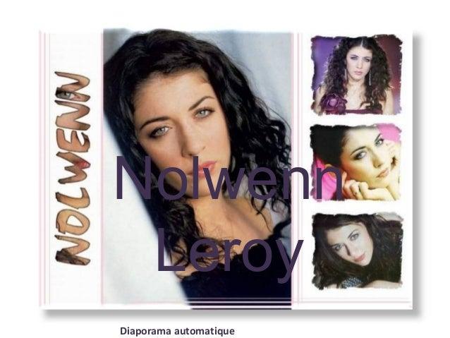 Nolwenn Leroy Diaporama automatique