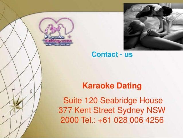 Karaoke dating sites