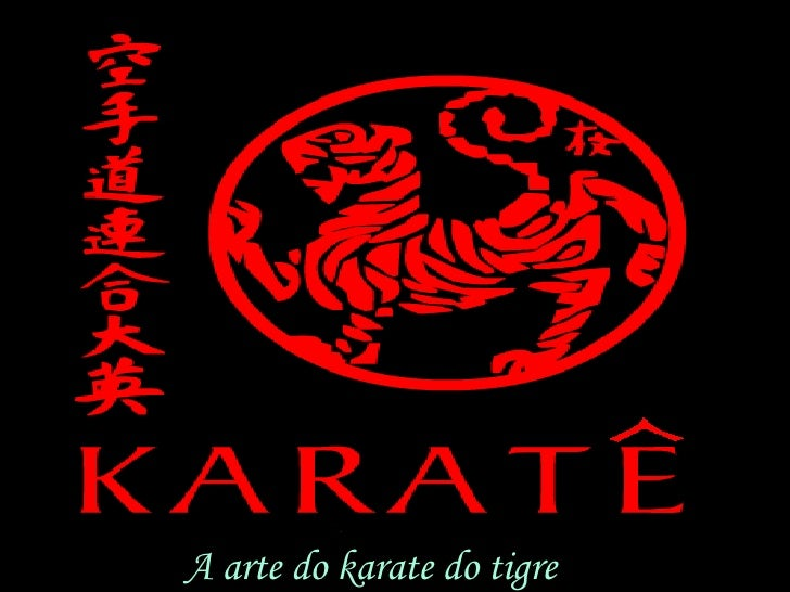 A arte do karate do tigre