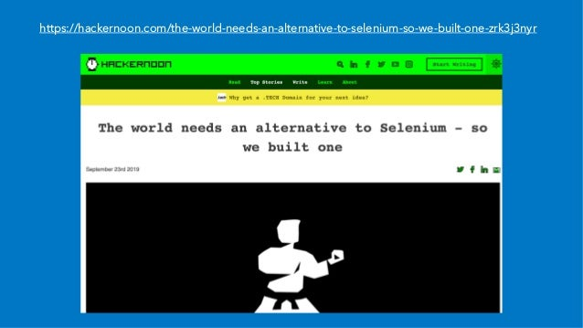 https://hackernoon.com/the-world-needs-an-alternative-to-selenium-so-we-built-one-zrk3j3nyr