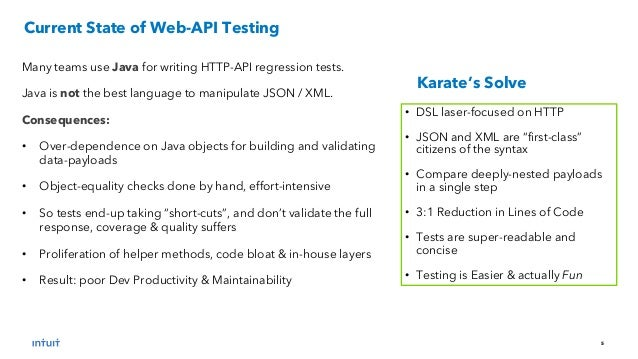 Karate - Web-Service API Testing Made Simple