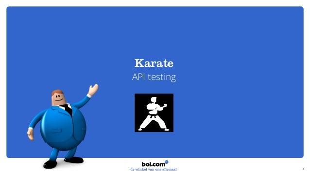 Karate API testing 1