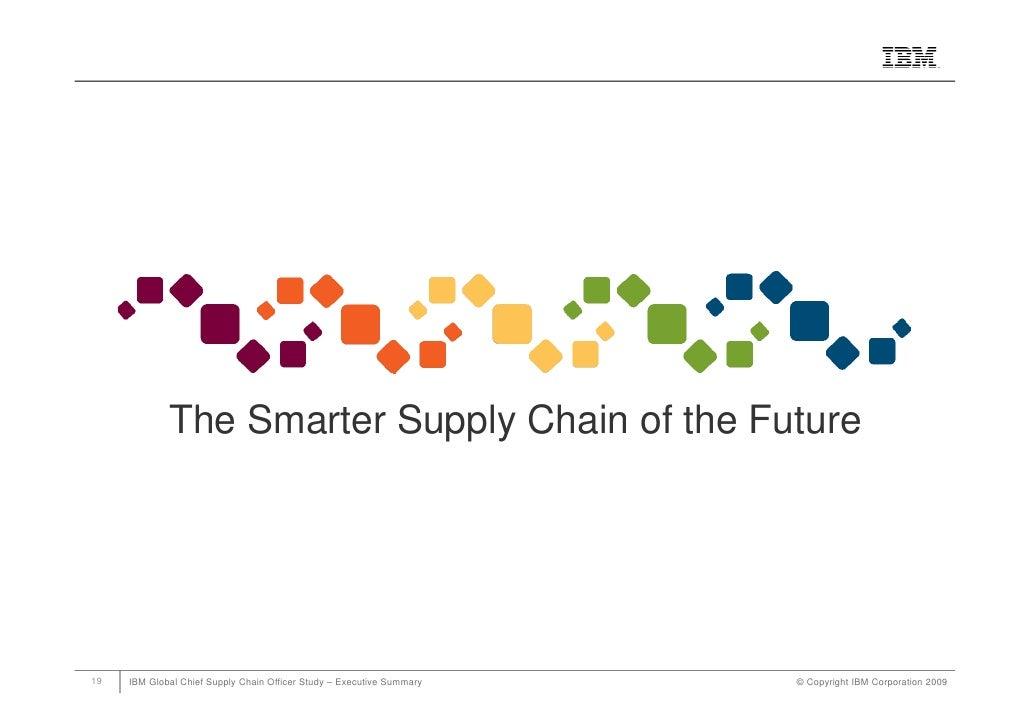 supply chain management case study on ibm