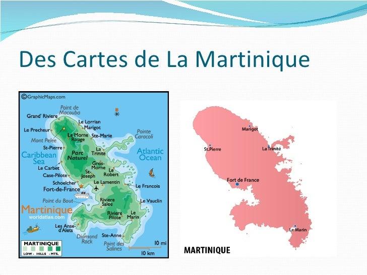 Des Cartes de La Martinique
