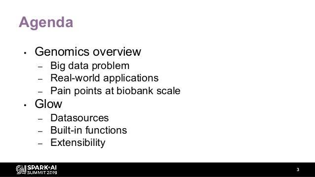 Enabling Biobank-Scale Genomic Processing with Spark SQL Slide 3