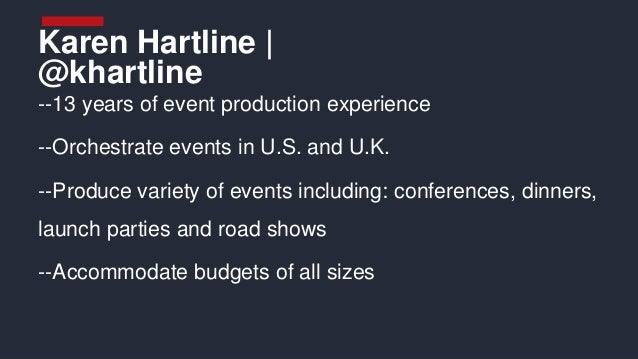#50Tips to Hosting Badass Events by Karen Hartline, Reinventing Events #INBOUND15 Slide 2
