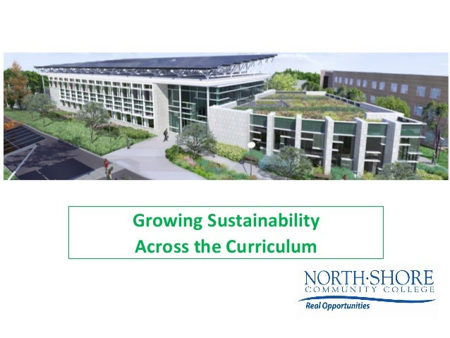 Growing  Sustainability     Across  the  Curriculum