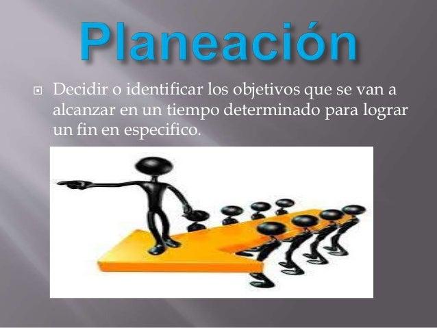 Medio para organizar las actividades de la empresa, con el fin de facilitar la consecución de sus objetivos, consiste en l...