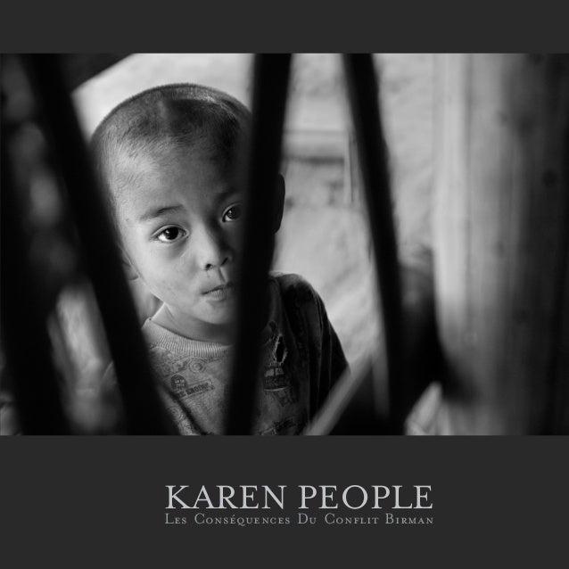1 KAREN PEOPLELes Conséquences Du Conflit Birman