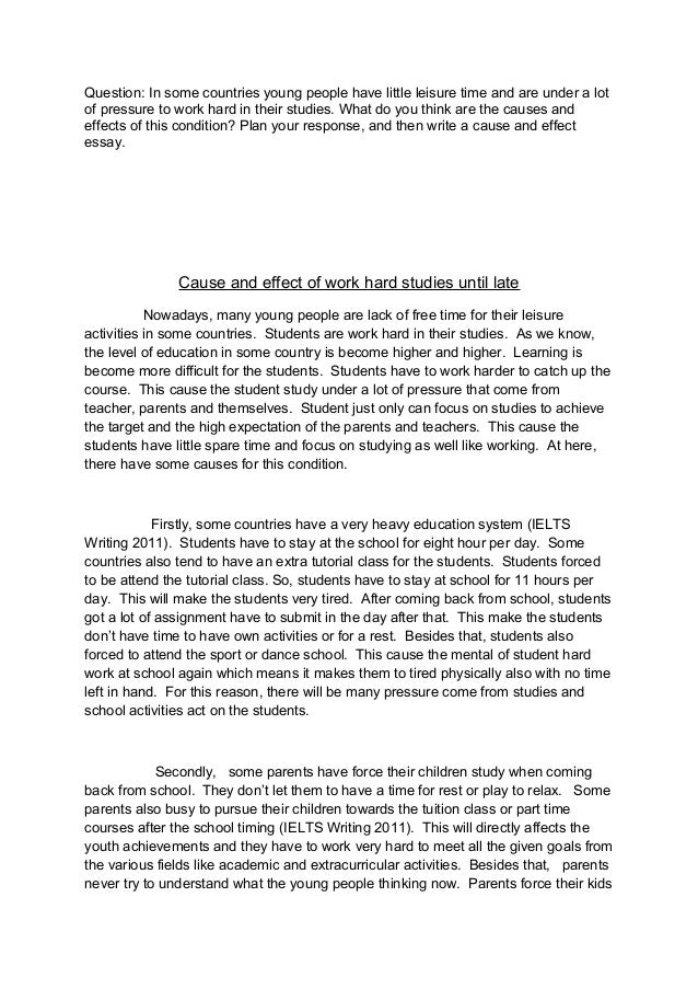 Sample Band 9 Essay: Children and Education.