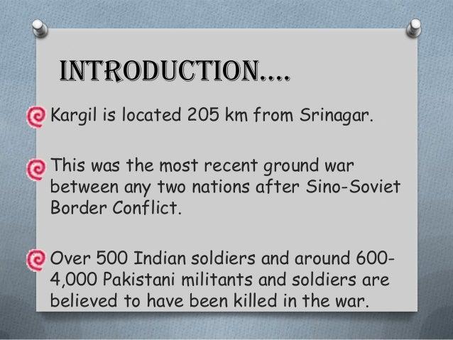 Kargil war , 1999