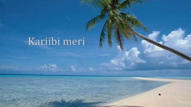 Kariibi meri  '.