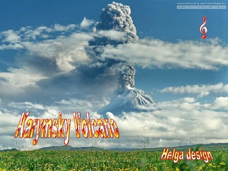 Karymsky Volcano Helga design