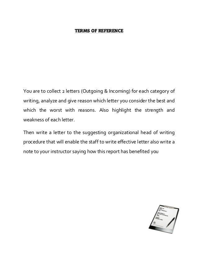 Karim V I Term Report On Effective Letter Writing Letter. Complaint Letter  Samples  Complaint Format Letter