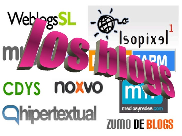 los blogs