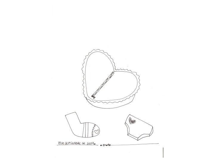 Apliques:     Corazones    Color: fuxia  fosforescente Aplicado por: doña       Hilda