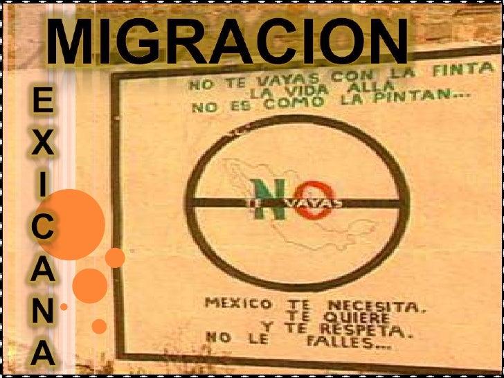 La migración es uno de los más grandes y     complejos temas de la actualidad. Diariamente, alrededor del mundo, cientos  ...