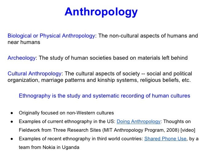What Are Examples of Applied Anthropology?