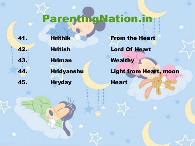 Kark Rashi Baby Boy Names With Meanings