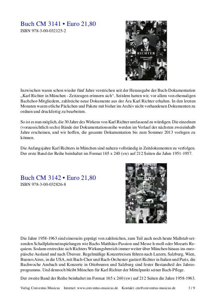 Karl Richter in Wort, Bild und Ton Slide 3