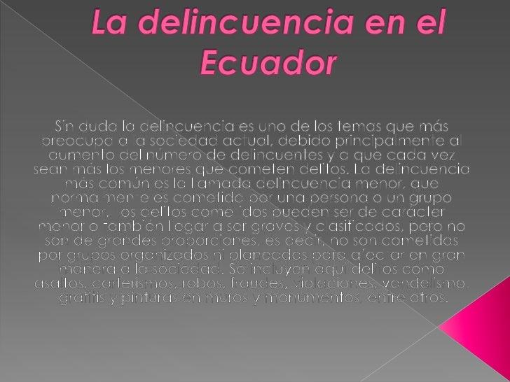 LA DeLiNcUeNcIa