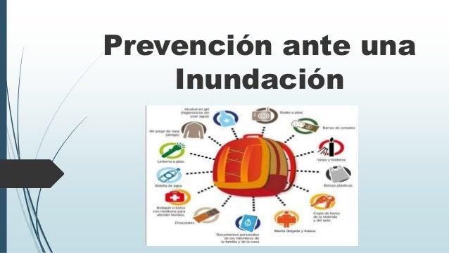 Prevención ante una Inundación