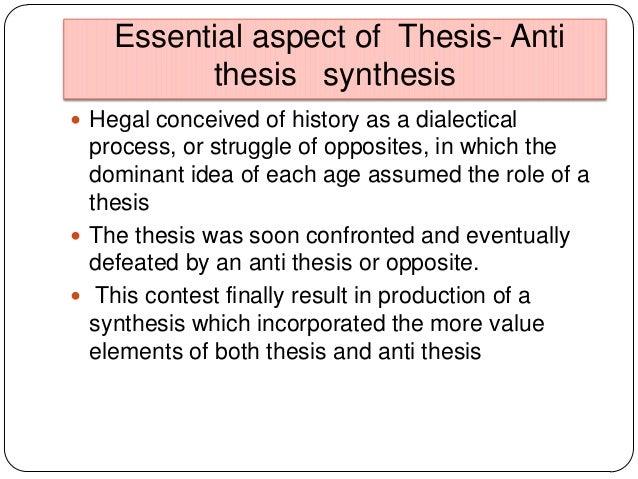kubla khan thesis antithesis synthesis