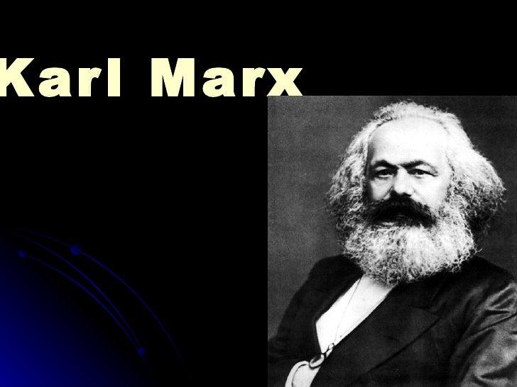 Kar l Marx