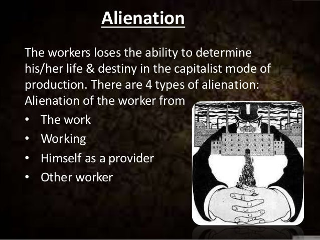 dimensions of alienation in marx's critique Karl marx on technology and alienation click to increase image size click to the last chapter is dedicated to the question of alienation beyond marx.