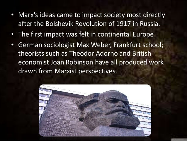 the most influential theories of karl marx a german philosopher Karl marx (/ m ɑːr k s / german: marx has been described as one of the most influential figures in in contrast to other philosophers, marx.