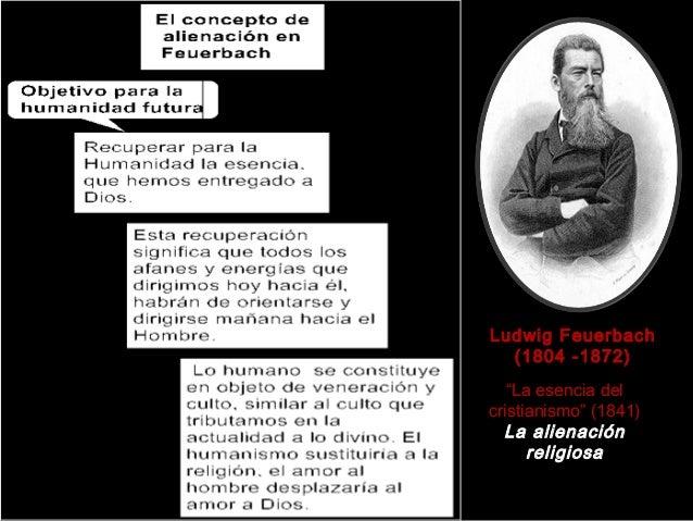 """Ludwig Feuerbach (1804 -1872) """"La esencia del cristianismo"""" (1841) La alienación religiosa"""